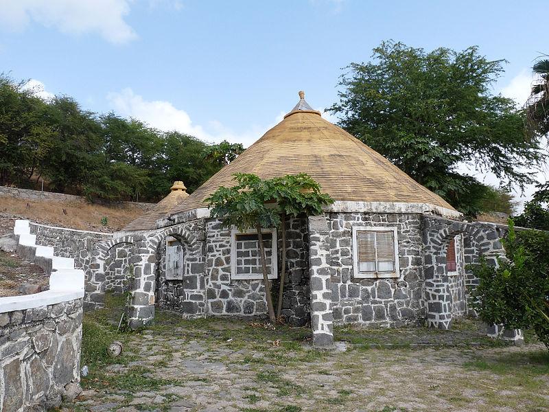 Kaapverdische hut